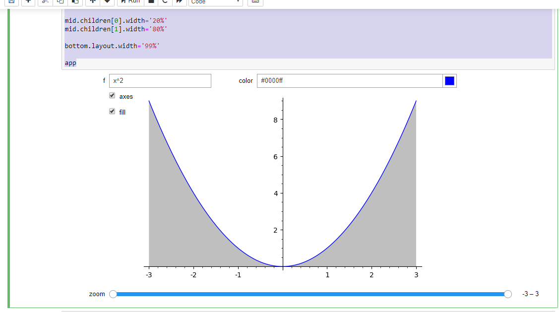 Interact layout in Jupyter-Notebook - ASKSAGE: Sage Q&A Forum